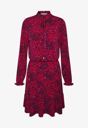 CRUSHED HEART DRESS - Jersey dress - multi/red