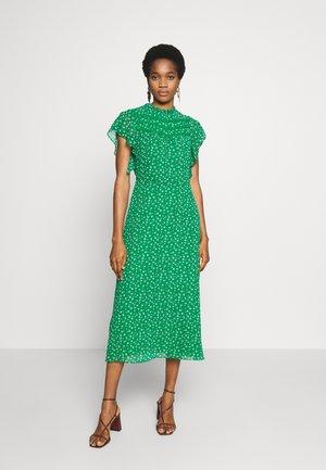 LEONIE FLORAL MIDI DRESS - Vapaa-ajan mekko - multi green