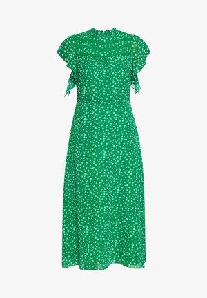 LEONIE FLORAL MIDI DRESS - Vestito estivo - multi green