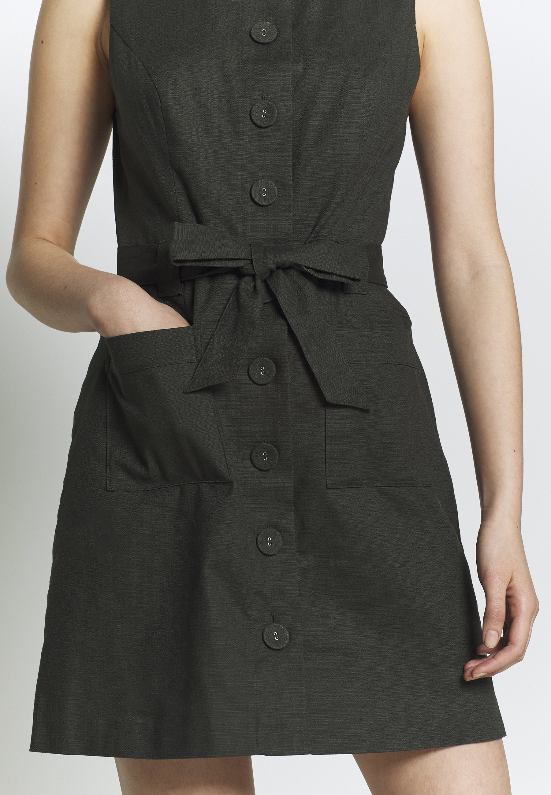 Oasis Sukienka koszulowa - khaki