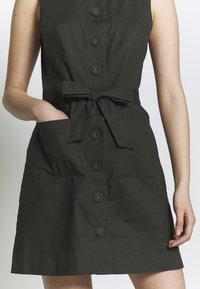 Oasis - Shirt dress - khaki - 5