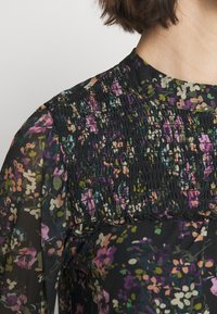 Oasis - SMUDGY FLORAL BALOON SLEEVE MESH - T-shirts print - multi blue - 4