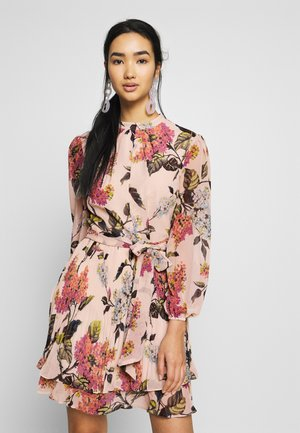 BLOSSOM FLORAL PLEATED SKATER - Day dress - multi/natural