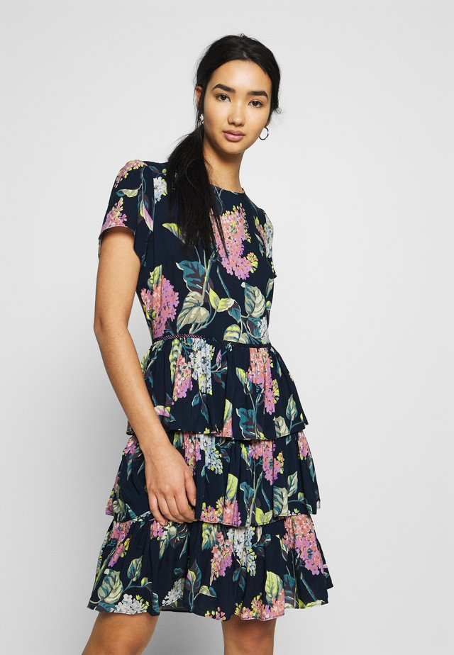 BLOSSOM RARA DRESS - Korte jurk - multi/blue