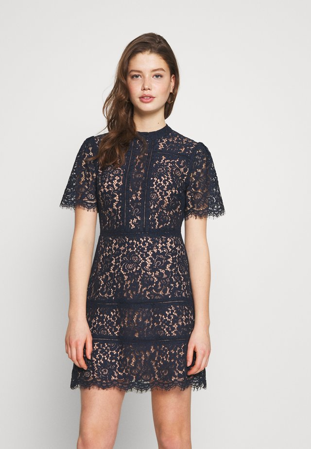 TAMARA SHIFT DRESS - Cocktailkjoler / festkjoler - navy