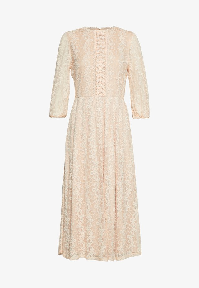 DAISY MIDI DRESS - Abito da sera - nude