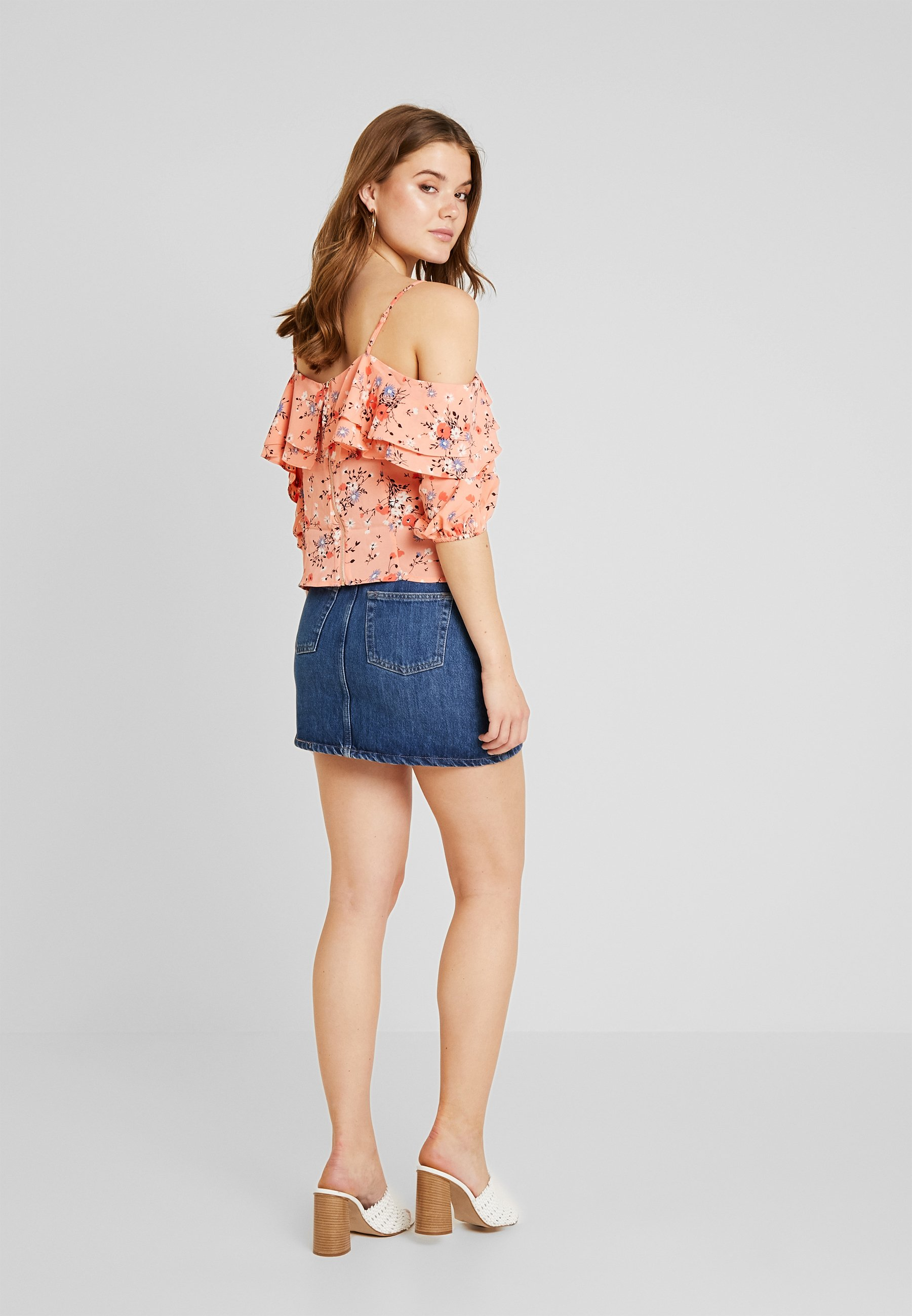 BardotBlouse Oasis Orange Fifi Floral Multi wOPXikuZT