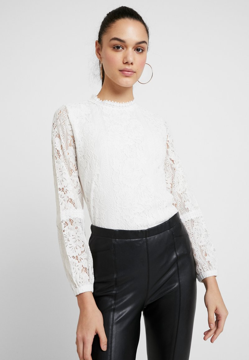 Oasis - LONG SLEEVE EXCLUSIVE - Blouse - off white