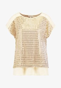 Oasis - SEQUIN TEE - Bluse - gold - 4