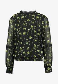 Oasis - DAFFODIL TRIM HIGH NECK - Bluse - multi black - 4