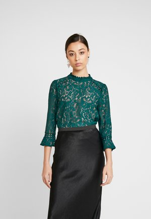 FLUTE SLEEVE - Blouse - teal green