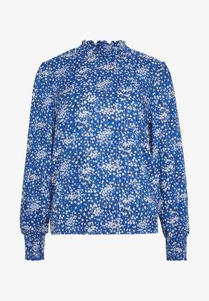 LUREX DITSY TOP - Blouse - multi blue