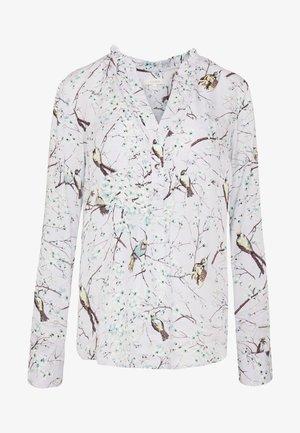 BIRD BLOSSOM - Blouse - multi grey
