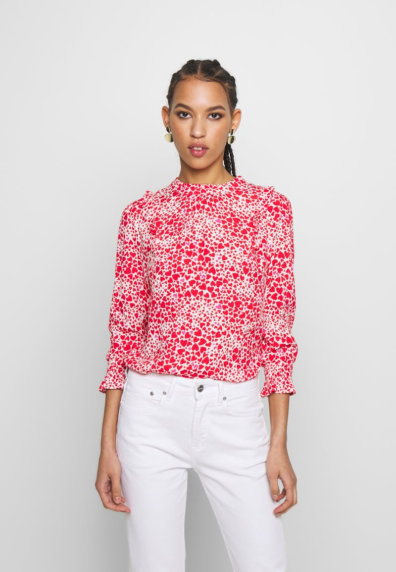 Oasis - HEART - Blouse - multi red