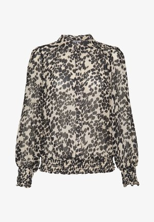 SMUDGE FLORAL  - Overhemdblouse - black and white
