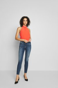 Oasis - TIE NECK  - Blouse - light red - 1
