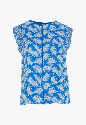 BARCELONA DITSY PLEAT SLEEVE SHELL - Blouse - multi/blue