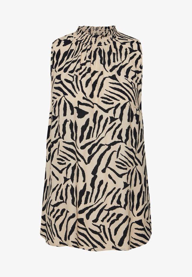 TIGER BARK - Bluzka - black/white