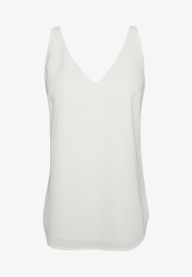FORMAL VEST - Bluzka - white