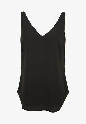FORMAL VEST - Blouse - black