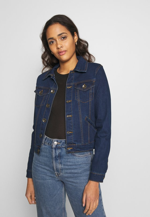 Denim jacket - dark wash