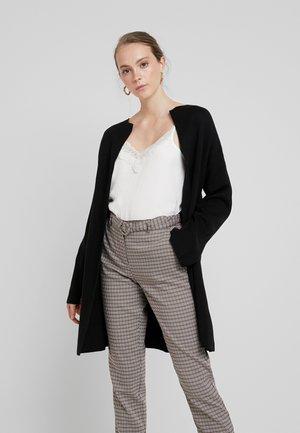 JESSICA CLEAN COATIGAN - Cardigan - black