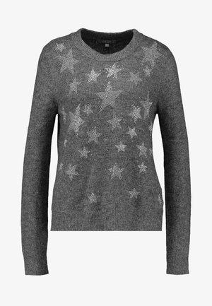 HOTFIX STAR OMBRE JUMPER - Jersey de punto - dark grey