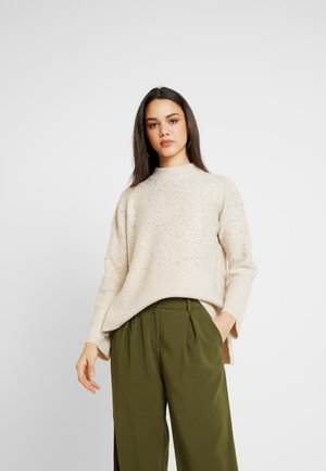 SALLY PATCHED TURTLE - Pullover - light neutral