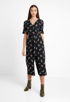 FLOWER ARRANGER - Jumpsuit - black