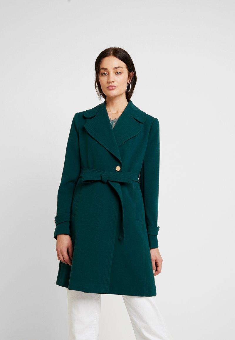 Oasis - WRAP COAT - Classic coat - mid green