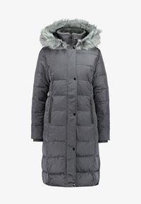 Oasis - CYRA LONG PADDED - Zimní kabát - mid grey - 4