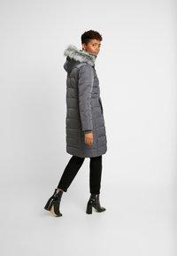 Oasis - CYRA LONG PADDED - Zimní kabát - mid grey - 2