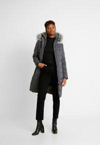 Oasis - CYRA LONG PADDED - Zimní kabát - mid grey - 1