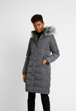 CYRA LONG PADDED - Zimní kabát - mid grey