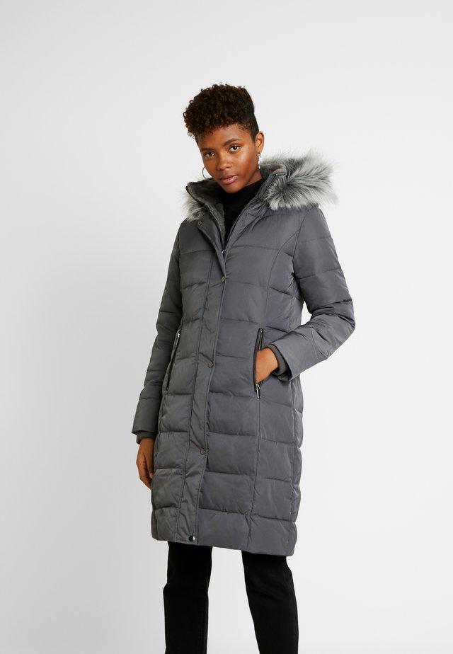 CYRA LONG PADDED - Płaszcz wełniany /Płaszcz klasyczny - mid grey