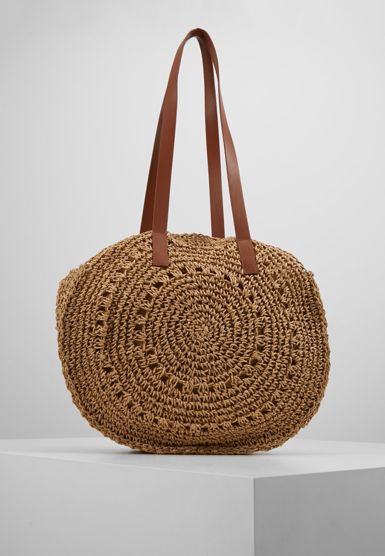 Oasis - CHARLOTTE CIRCLE SHOPPER - Shopping bag - light neutral