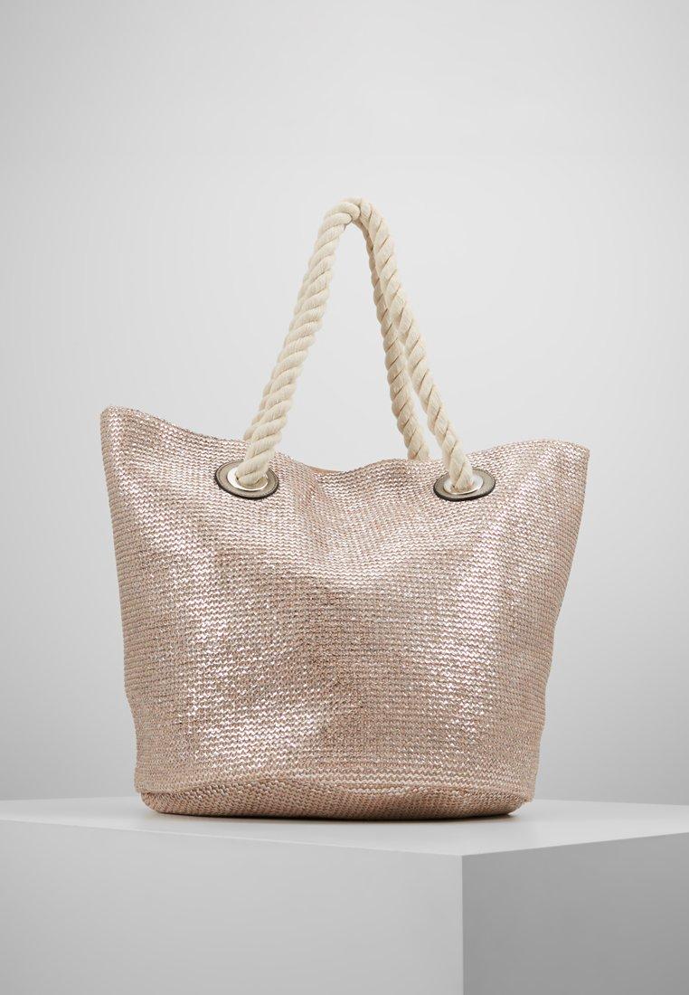 Oasis - SHIMMER SHOPPER - Tote bag - neutral