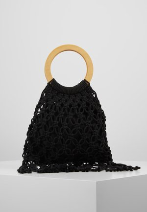 TOP HANDLE TOTE - Torebka - black