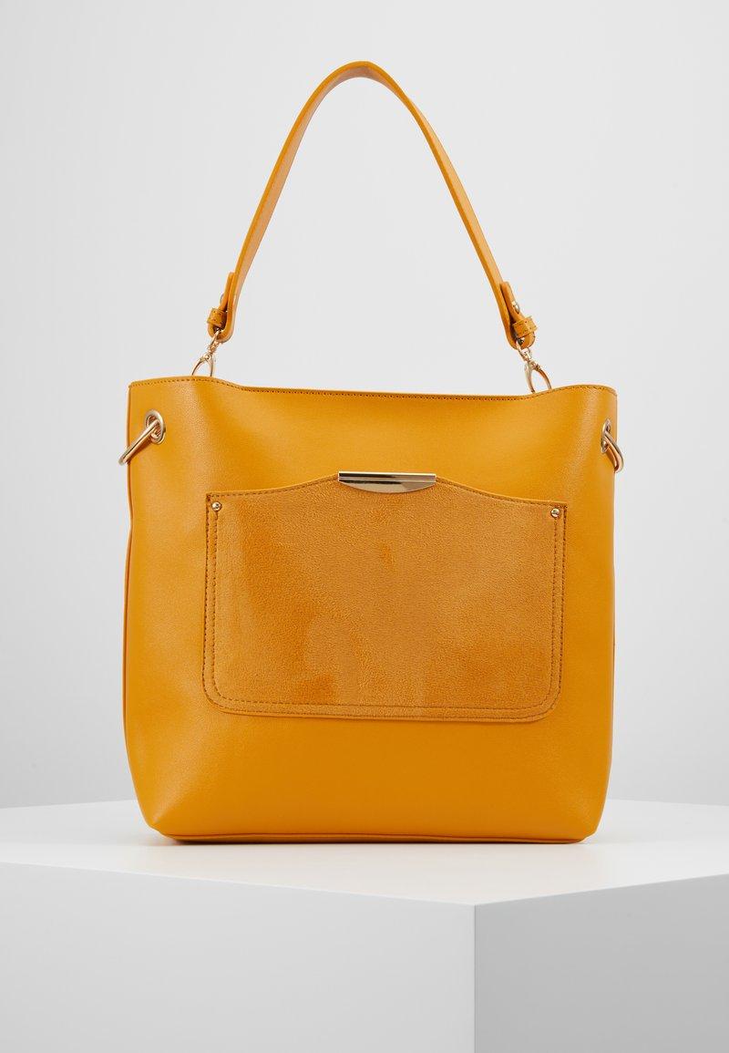 Oasis - SADIE RING HOBO SET - Handbag - ochre