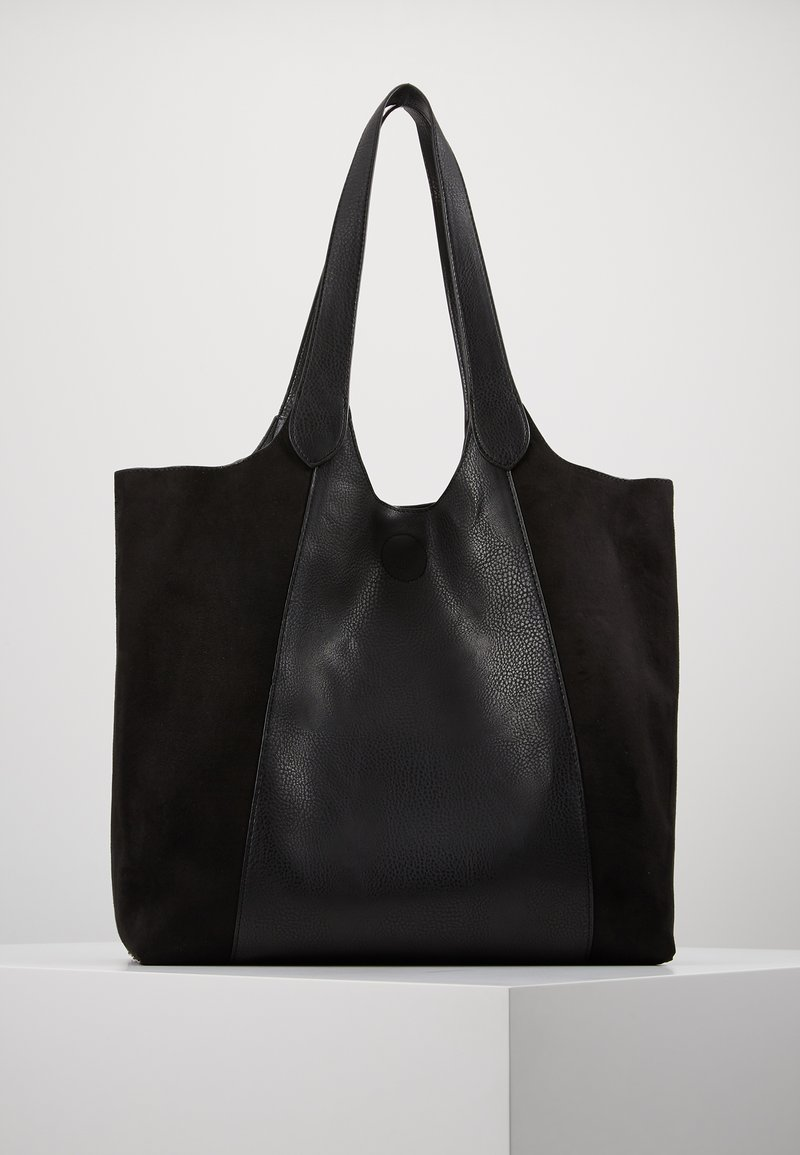Oasis - SCOOP SHOPPER SET - Shopping bag - black