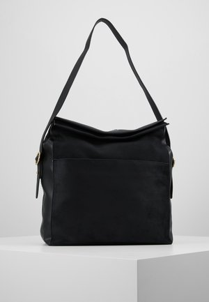 FREYA FOLDOVER XBODY - Across body bag - black