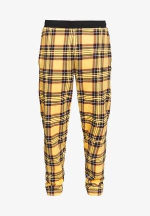 TARTAN PANT - Jogginghose - yellow