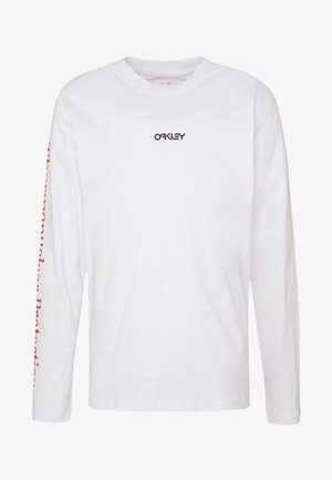 THERMONUCLEAR TEE - Long sleeved top - white