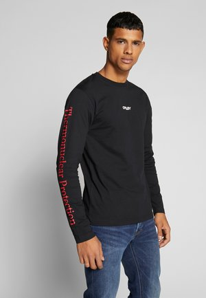 THERMONUCLEAR TEE - Long sleeved top - blackout