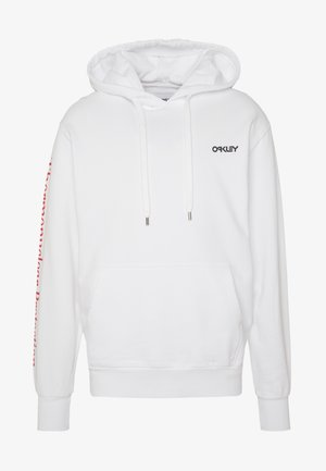 THERMONUCLEAR HOODIE - Kapuzenpullover - white