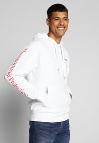 Oakley - THERMONUCLEAR HOODIE - Hoodie - white - 0