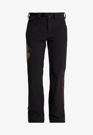 HOURGLASS SOFTSHELL PANT - Schneehose - blackout