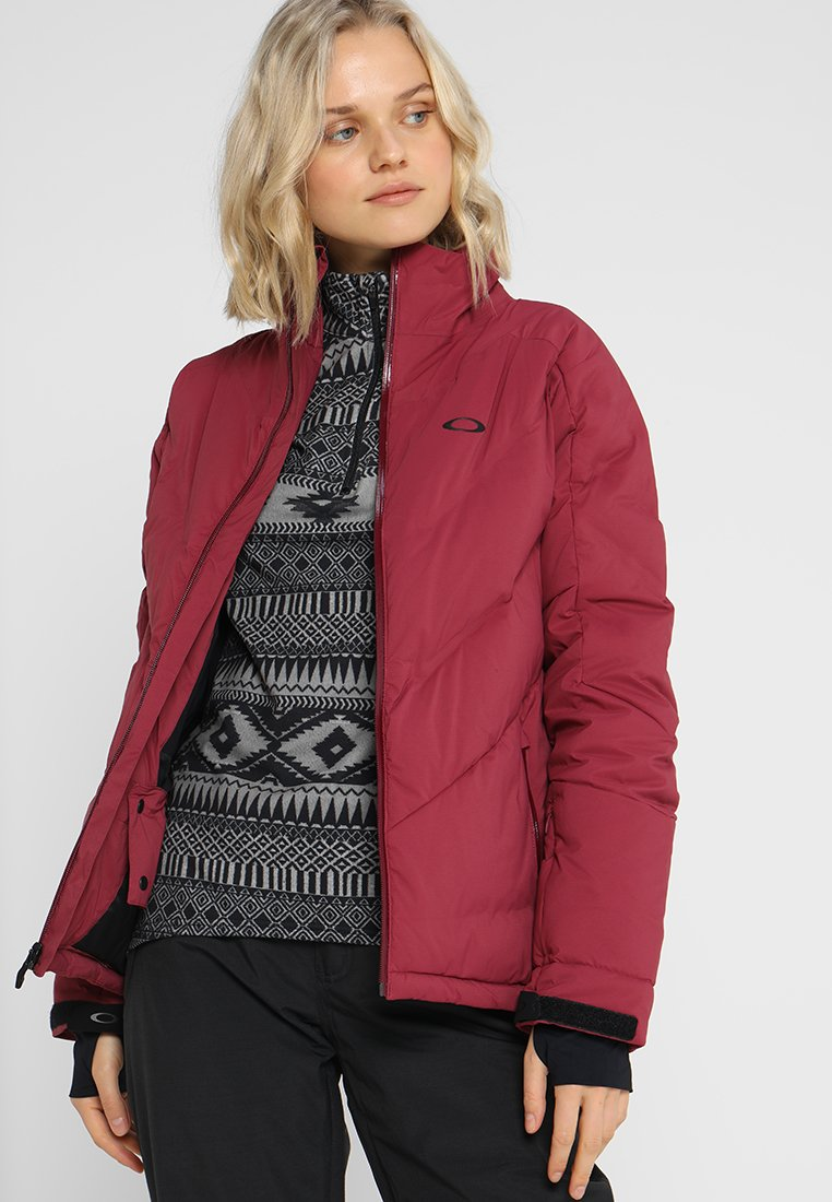 Oakley - WOMEN SNOW  - Snowboard jacket - burgundy