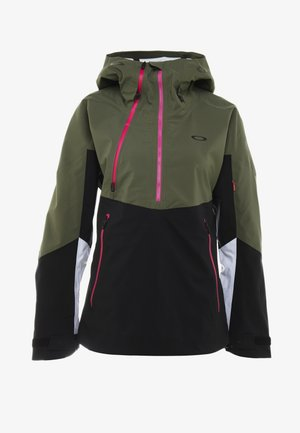 PHOENIX 2.0 SHELL JACKET - Snowboardjacka - dark brush