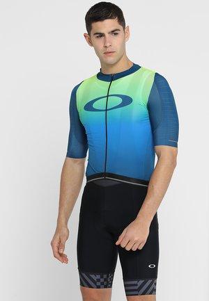 AERO - Camiseta estampada - jade iridium